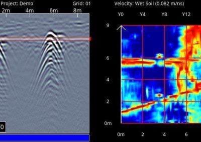 Georadar y radiodetección