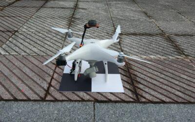 Sistema de posicionamiento PPK para levantamiento fotogramétrico con drones
